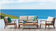 Relax in the outside with the range of outdoor lounges available to buy online. Shop for wicker lounges, recliners, egg chairs, sun loungers and more. Outdoor Lounge, Outdoor Decor, Outdoor Living Furniture, Living Essentials, Sofa Sale, Lounge Sofa, Sun Lounger, Relax, Harvey Norman