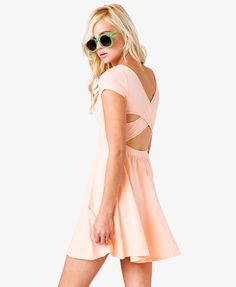 Crisscross Back Dress | FOREVER21