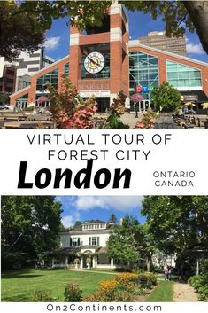 Virtual tour of the Canadian city of London. Explore the Forest City right from your sofa when you are stuck at home or cannot travel. #ldn #ldngem #forestcity #londonON #canada #ontario #localtravel #on2continents #travelblog #familytravelblog #thingstodo #wheretogo #whattosee #519 #519ldn #ldnontario #travelwithkids #local #swontario Hiking Europe, Europe Travel Tips, Travel Couple, Family Travel, Canada Ontario, Forest City, Best Places To Travel, London City, Canada Travel