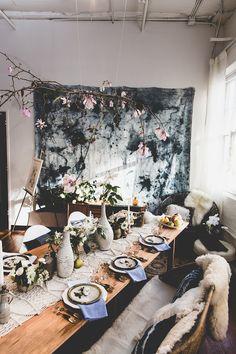 boho chic bridal shower inspiration wedding   jason wasinger photography