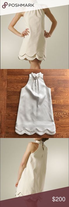 """Julie Haus Designer Dress Excellent condition! Buttery soft, stunning designer dress, I would keep this in a heartbeat if it fit me correctly! The color is a very light gray with blue-ish hues.  • Length 33 1/2"""" l Armpit to armpit 16 1/2""""  • No Trading  • Reasonable Offers are Always Welcomed  • Ask Me For a Bundle Discount!! Julie Haus Dresses"""