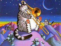 Always liked Kliban cats.....