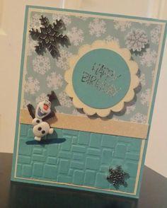 Olaf birthday card