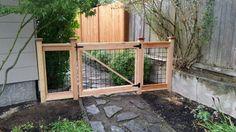 Hog wire gate