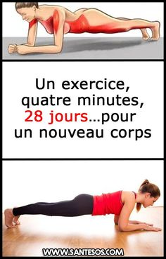 Un exercice, quatre minutes, 28 jours…pour un nouveau corps - Nell Oa. Yoga Fitness, Fitness Tips, Health Fitness, Tennis Trainer, Gym Bra, Sport 2, Wellness Spa, Sport Fishing, Sport Photography