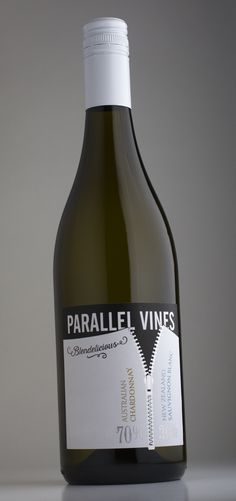 Parallel Vines – how do you join the two best-known wines from Australia and New Zealand together in one wine? With a zip.