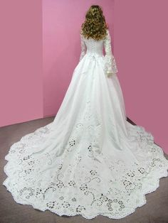 Not sure about the cut or corset but that lace doh!