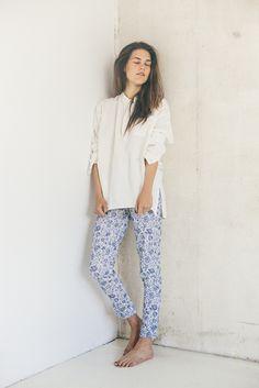 Stretch jodhpur trousers | Boho