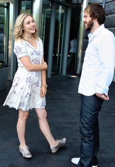 Elizabeth Olsen and Sean Durkin, 2011.