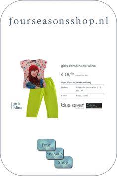 nl: Four Seasons Shop - Girls combinatie Aline We hebb. Girls Shopping, Four Seasons, Seasons Of The Year