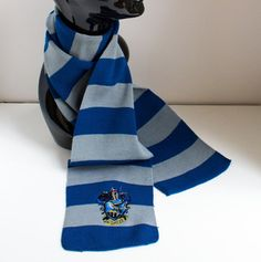 This scarf to keep you warm in winter.   25 Magical Items For The Ravenclaw In Your Life