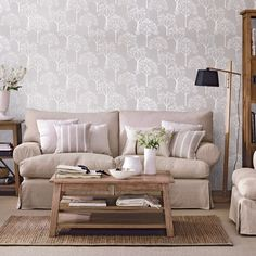 Stylish Living Room Decorating Ideas Best Of 35 Stylish Neutral Living Room Designs Digsdigs Casual Living Rooms, Living Room Decor, Diy Wall Stickers, Wall Decals, Neutral Bedrooms, Mid Century Living Room, Living Room Designs, Family Room, Family Wall