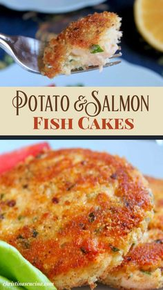 Salmon Recipes, Fish Recipes, Seafood Recipes, Appetizer Recipes, Dinner Recipes, Cooking Recipes, Healthy Recipes, Appetizers, Salmon Fish Cakes