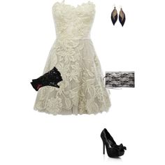 Lace It Up! (Romantic embroidery dress $565) $565