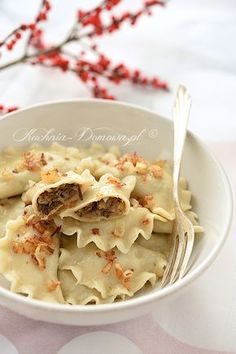 Polish Christmas, Christmas Diy, Polish Recipes, Polish Food, Jello Recipes, Pierogi, Dumplings, Lunch, Bread