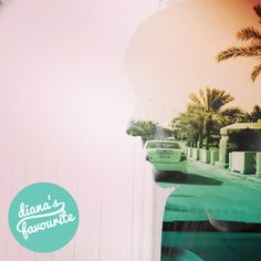 Via @wa7shtom :)  #DianaPhotoApp #DianaPhoto #doubleexposure #art #vintage #camera #lomo #silhouette #palm #summer