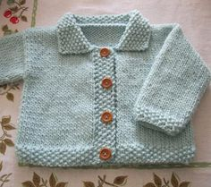 knit baby boy sweater pattern for free | Free Baby Sweater Knitting Patterns