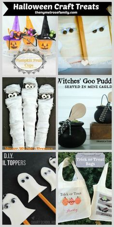 Adorable Frankenstein Halloween Treats are the perfect class treat for schools that only allow packaged goods. Halloween Goodies, Holidays Halloween, Halloween Kids, Halloween Treats, Happy Halloween, Halloween Party, Halloween Decorations, Spooky Treats, Halloween Carnival