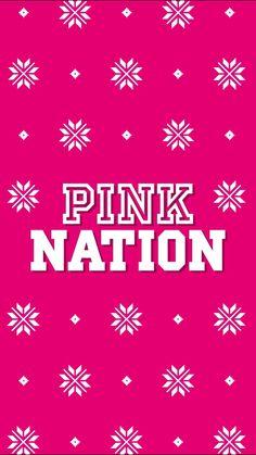 VS Pink, Pink Nation holiday season 2017 wallpaper