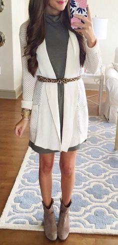 super cute outfit would be cuter without the belt