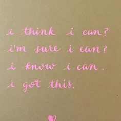 I know you can.
