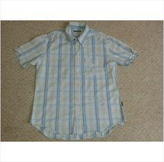 Designer TED BAKER Mens Smart Casual Summer Short Sleeve Shirt Top