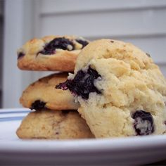 """Blueberry Drop Cookies I """"These were very good and a nice change. A great summer cookie."""""""