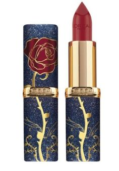 L'Oreal Beauty And The Beast The Enchanted Rose Lipstick Limited Edition Mac Beauty, Beauty Makeup, Beauty Nails, Beauty Care, Enchanted Rose, Mac Makeup, Skin Makeup, Makeup Lipstick, Lipsticks