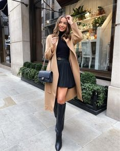 Fall Fashion Colors, Winter Fashion Outfits, Look Fashion, Autumn Fashion, Classy Outfits, Stylish Outfits, Europe Outfits, Elegant Outfit, Mode Inspiration