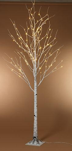 LED Birch Tree Warm White 8ft $130--saveoncrafts has LOTS of cool stuff!!!