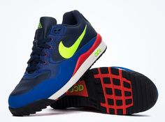 Nike ACG Air Wildwood – Midnight Navy – Volt – Red