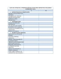 Resultado de imagen para lista de cotejo exposicion oral
