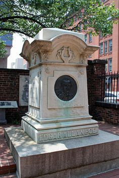 """Edgar Allan Poe (Current Burial Site) 