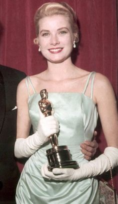Image result for grace kelly oscar