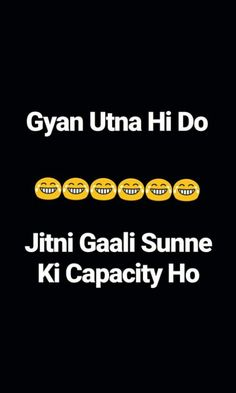 Funny Quotes In Hindi, Funny Attitude Quotes, Desi Quotes, Badass Quotes, Sarcastic Quotes, Jokes Quotes, Life Quotes, Funky Quotes, Swag Quotes