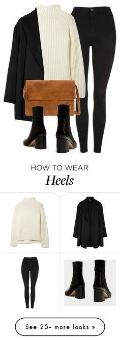 """""""Untitled #7102"""" by laurenmboot on Polyvore featuring Topshop, Theory, Agnona and MANGO"""