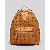 MCM Backpack - Crown Stud Small