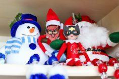 elf1 buddy & ginny, take two | elf on the shelf