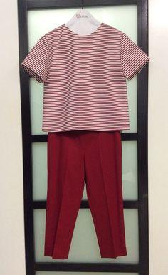 Mariniere e pantalone Red Valentino