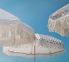 ❖ Cutest Beach Umbrellas I ever did see! || Sunday Supply Co ||...