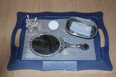 A beautiful hand-held mirror like this one for mirror polishing would be great.