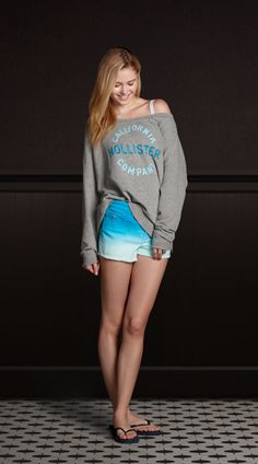 Awesome ombre! Shorts available at Oak Court Mall's Hollister Co.