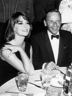 Natalie Wood and Frank Sinatra