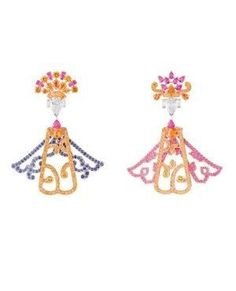 Van Cleef & Arpels Serenitatis earrings from the 'Voyages Extraordinaires' collection by VoyageVisuel