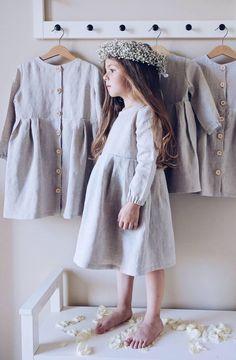 Handmade Linen Dress   LaPetitePersonneShop on Etsy