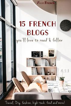 This list of 15 top French bloggers is perfect for intermediate French students! I also explain how to make a solid habit out of reading French every week.