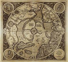 pole mercator. Древние карты мира в высоком разрешении - Старинные карты