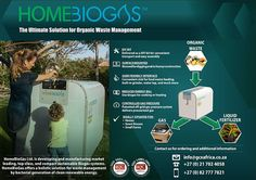 Home BioGas Convert your food waste into cooking gas & fertilizer Renewales; clean energy economy; decarbonize; biogas; AD; compost Find out more here: www.indiegogo.com...