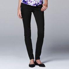 Simply Vera Vera Wang Slimming Skinny Jeans - Women's
