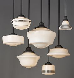 Delicieux Schoolhouse Pendant Lighting | Rejuvenation